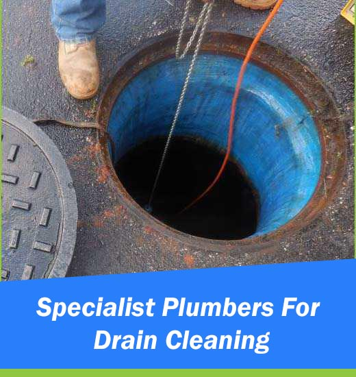 Specialist Plumbers For Drain Cleaning